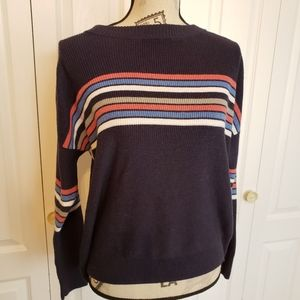 AMERICAN EAGLE Slouchy Striped Sweater s